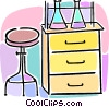 chemistry class Vector Clipart picture