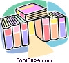 Vector Clipart graphic  of a books
