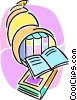 cornucopia of knowledge Vector Clipart picture