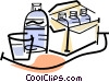bottled water Vector Clip Art picture
