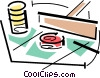 Vector Clipart graphic  of a gambling/craps