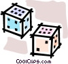 dice Vector Clipart illustration