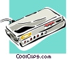 Vector Clip Art graphic  of a computer modem