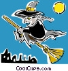 witch Vector Clipart picture
