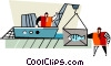 commercial fishing Vector Clip Art picture