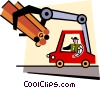 logging vehicles Vector Clipart picture