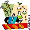 Food inspectors Vector Clip Art picture