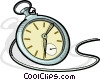 pocket watch Vector Clipart graphic