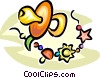Soother/pacifier Vector Clipart picture
