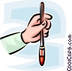Vector Clipart image  of a blood sample