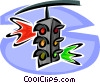 traffic lights Vector Clipart image