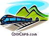 train Vector Clipart illustration