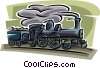 train, locomotive Vector Clipart image