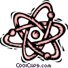 Vector Clipart picture  of an atoms/molecules