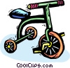 tricycle Vector Clipart illustration