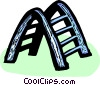 climbing structure Vector Clip Art picture