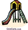 Vector Clip Art graphic  of a playhouse