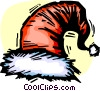 Vector Clip Art picture  of a Santa's Hat