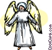 angels Vector Clip Art graphic