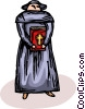 priest Vector Clipart picture