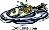 Vector Clipart illustration  of a fish/seafood