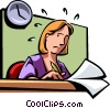Vector Clip Art graphic  of a Schedules