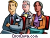 Vector Clip Art image  of a Training Courses