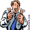 Accomplishment Vector Clipart illustration