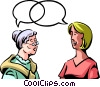 Communication Information Vector Clip Art image