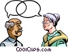Vector Clipart graphic  of a Communication Information