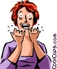 Frustration Vector Clipart graphic