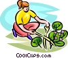 Vector Clipart graphic  of a Nature and Garden and more