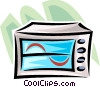 monitor Vector Clipart illustration