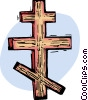 Vector Clipart graphic  of a Cross
