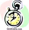 Vector Clipart image  of a Stopwatches