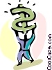 Financial Concepts Vector Clip Art graphic