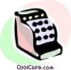 Cash Register Vector Clipart image