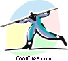 Vector Clipart graphic  of a Balancing