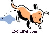 dog Vector Clip Art graphic