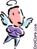 Angel Vector Clipart graphic