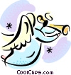 Vector Clipart illustration  of an Angels
