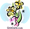 Daisies Vector Clipart illustration