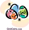 Easter Eggs Vector Clipart picture