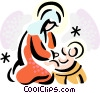 Mary Vector Clip Art graphic