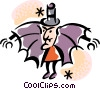 Vampires Vector Clipart picture