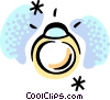 Vector Clipart graphic  of a Rings