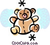 Vector Clip Art graphic  of a Teddy Bears