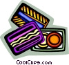 Vector Clip Art picture  of a credit cards