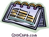 Vector Clip Art graphic  of a calendar