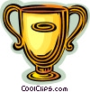 Vector Clipart image  of a trophy